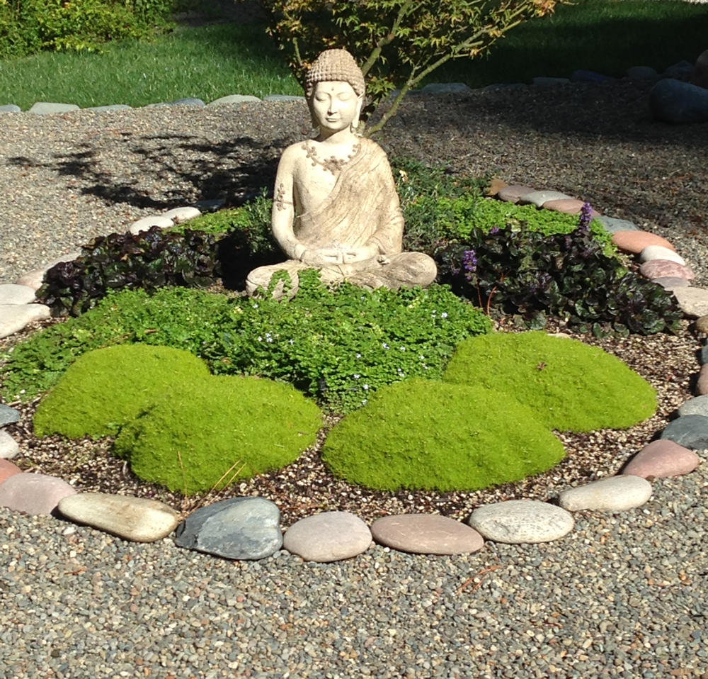 Bring Tranquility To The Landscape By Building Your Own Zen Rock Garden Osu Extension Service