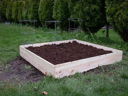 Raised bed lumber pressure treated safe osu extension - Safest material for raised garden beds ...