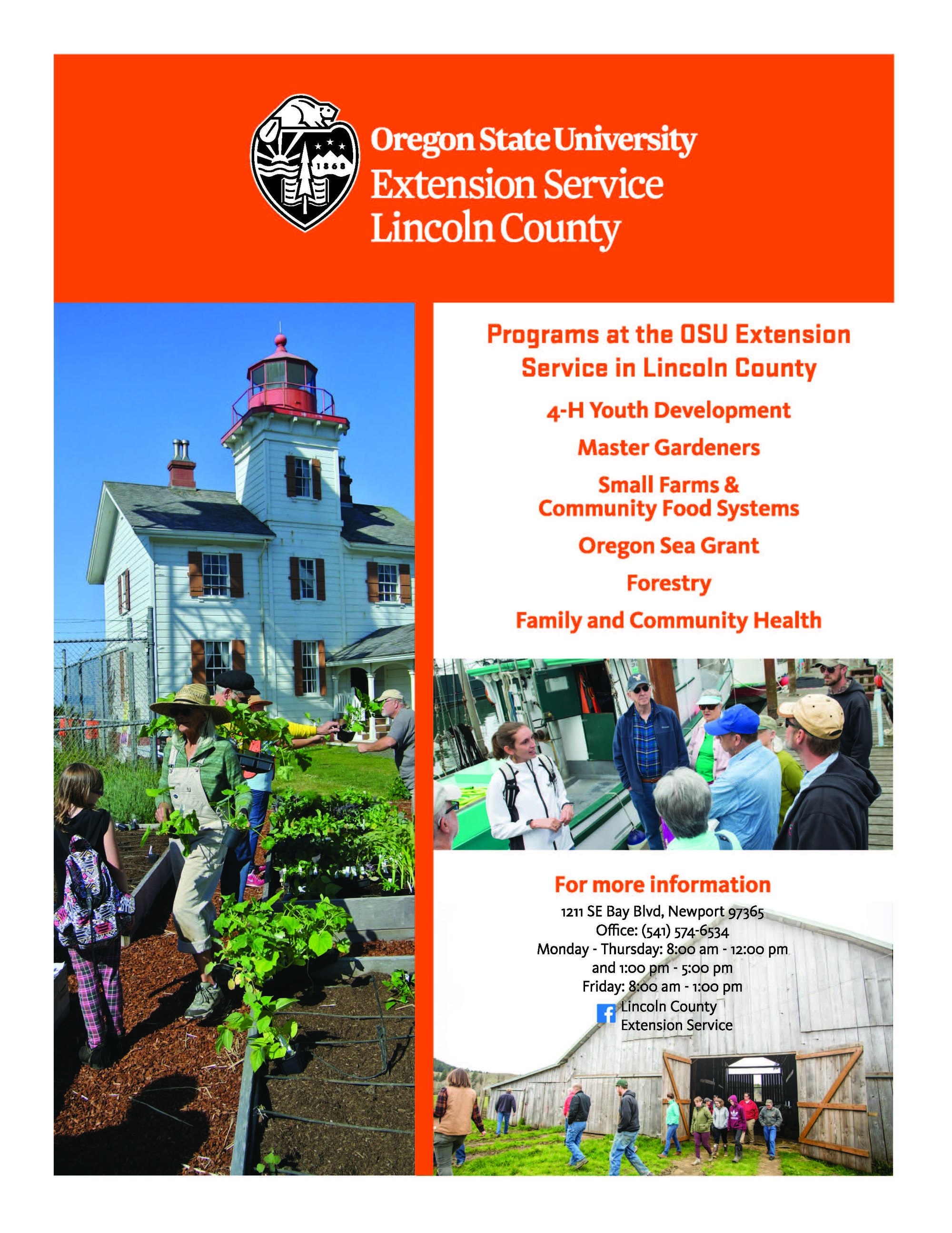 Lincoln County Extension Programs