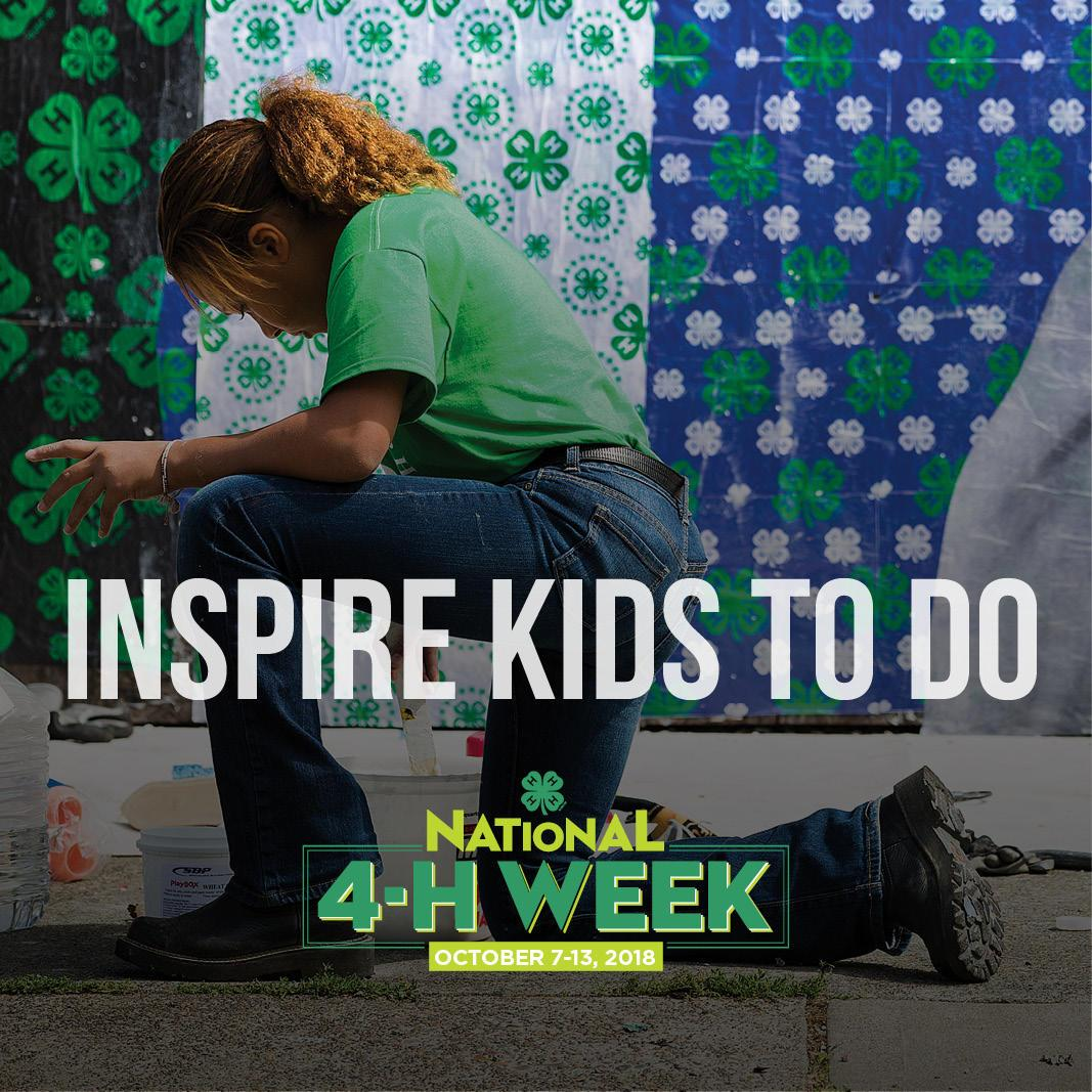 Inspire Kids To Do - National 4-H Week