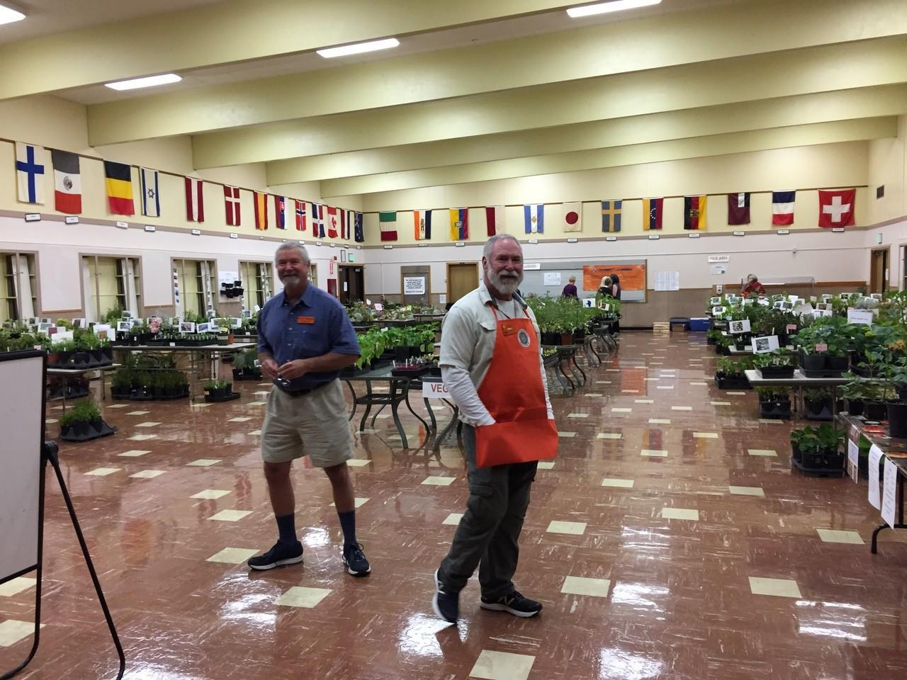 MG annual plant sale and a HUGE room of plants!