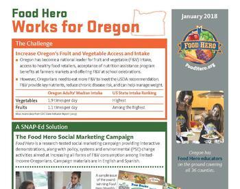 2017 Food Hero fact sheet