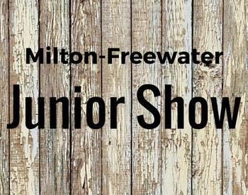 Milton-Freewater Junior Show