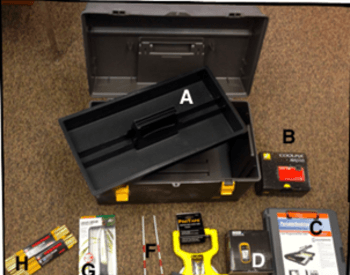 tools within the rangeland monitoring kit