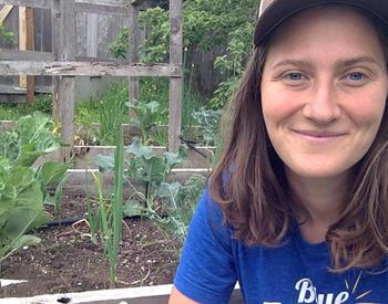 Halie Cousineau, OSU Extension school garden coordinator in Douglas County, hosts a video series, Stay at Home Gardening with Halie Cousineau.