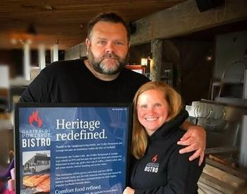 Dennis and Amanda Cavitt, owners of the Garibaldi Portside Bistro