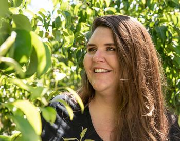 Ashley Thompson is OSU Extension's tree fruit specialist in Wasco and Hood River counties.