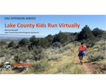 Lake County Kids Run Virtually