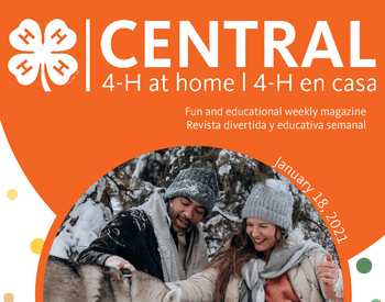 NEW! January 19th - 4-H at Home Central Monthly Booklet | 4-H en Casa Mensual Folleto