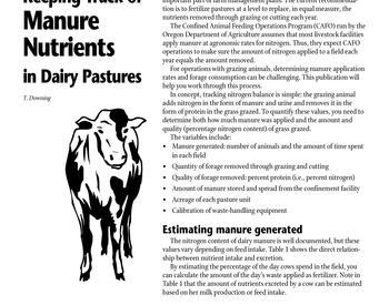 Disposal of animal mortality and byproducts | OSU Extension Service