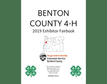 2019 Exhibitor Fairbook